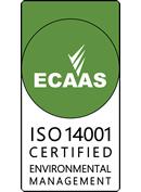 ECAAS ISO14001 CERTIFIED ENVIRONMENTAL